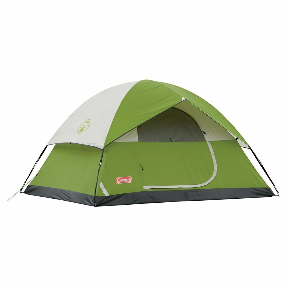 Details about Coleman 3 Person Sundome Tent Made in USA Polyester C&ing Fishing Hunting Tent  sc 1 st  eBay & Coleman 3 Person Sundome Tent Made in USA Polyester Camping Fishing ...