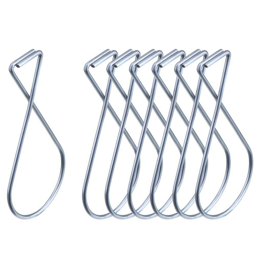 10pcs Suspended Ceiling Grid Hangers Clips Metal Hooks Twist Wire ...