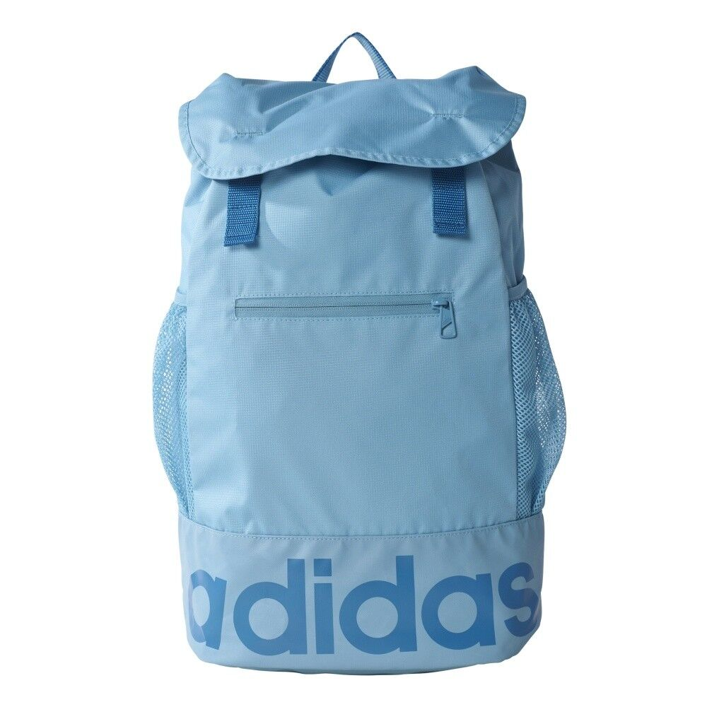 Details about Backpack adidas Women Linear Performance Backpack AY5063 20 L  Blue 43 cm x 27 cm b63cbb6bb9