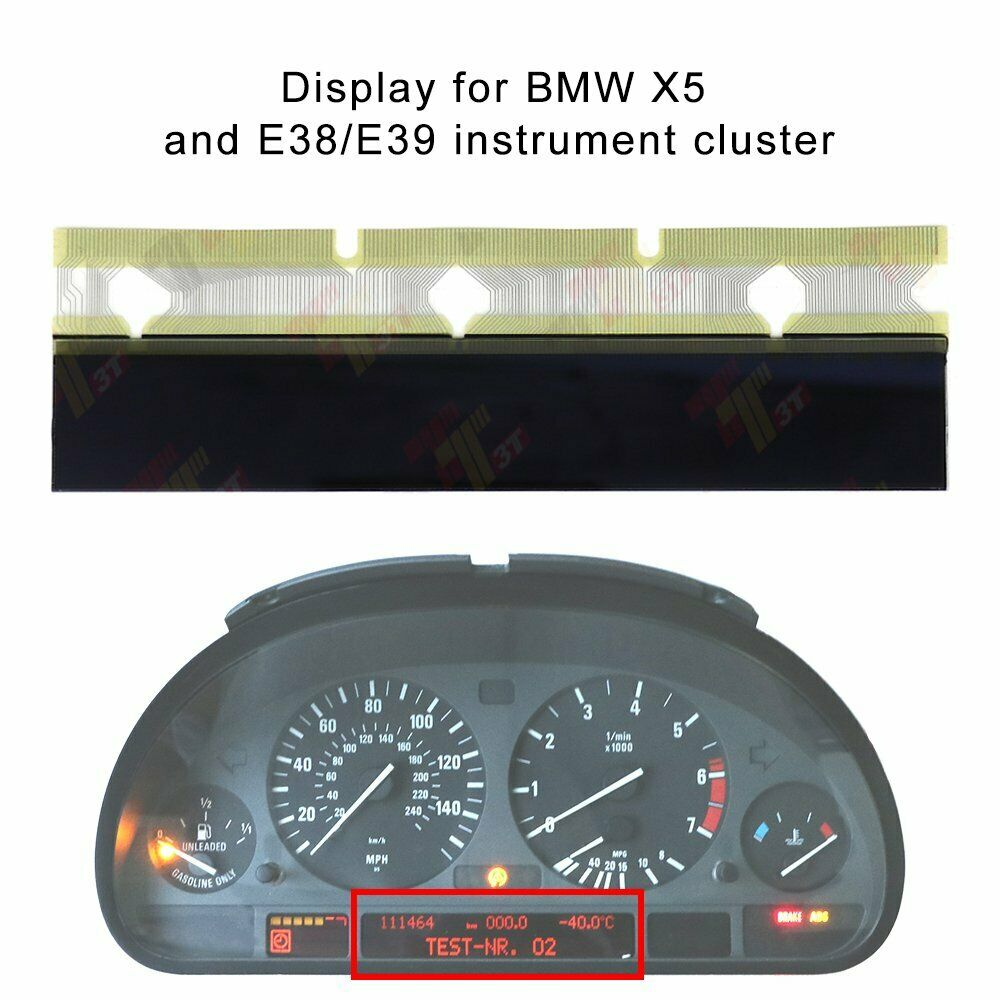 LCD Display For BMW X5, And 3-series E38/E39 Of Instrument