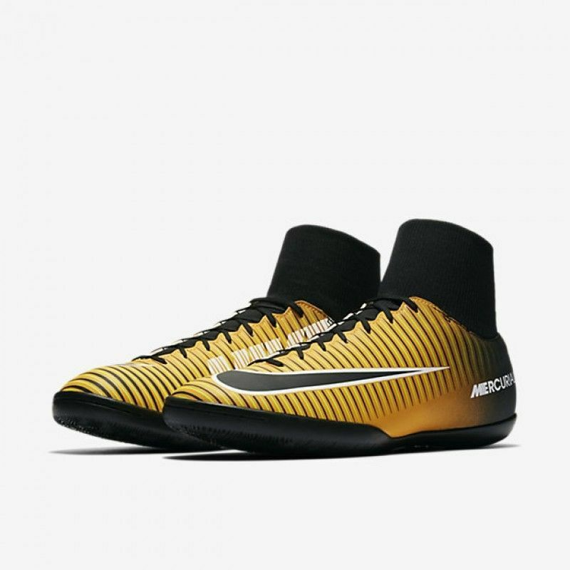 b80c72f879 Details about Nike MercurialX Victory VI DF IC Soccer Shoes 903613-801  Yellow Black Men 10 11