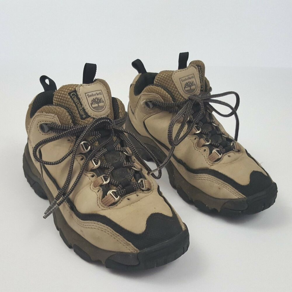 eb0067c058b Details about Timberlands Womens Hiking Boots Size 6.5 Leather Lace Up  83692 6422