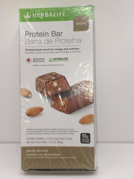 Herbalife Deluxe Protein Bars Box Of 14 Bars Any Flavors From US
