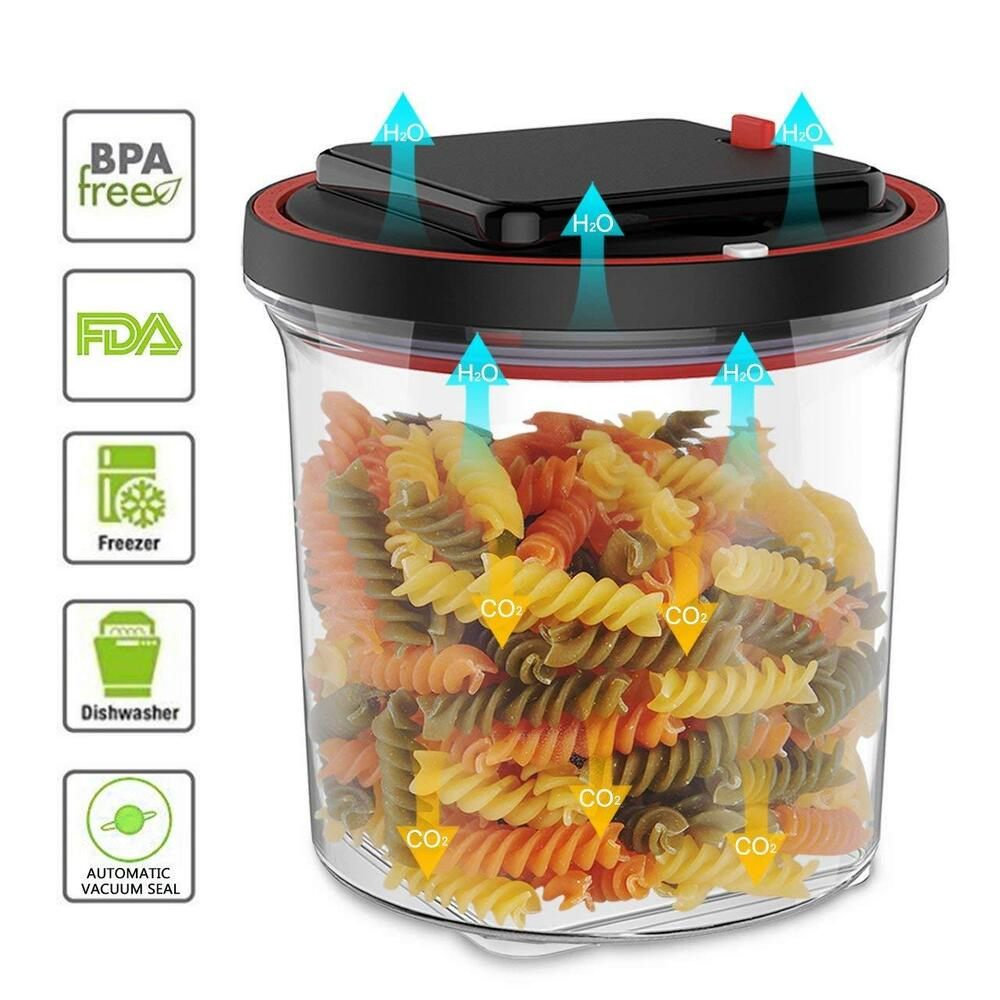 Details About Airtight Automatic Food Storage Container Vacuum Sealer Motor  Food Machine Pack