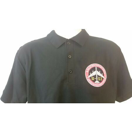 img-USAF UNITED STATES AIR FORCE B-52 STRATOFORTRESS POLO SHIRT