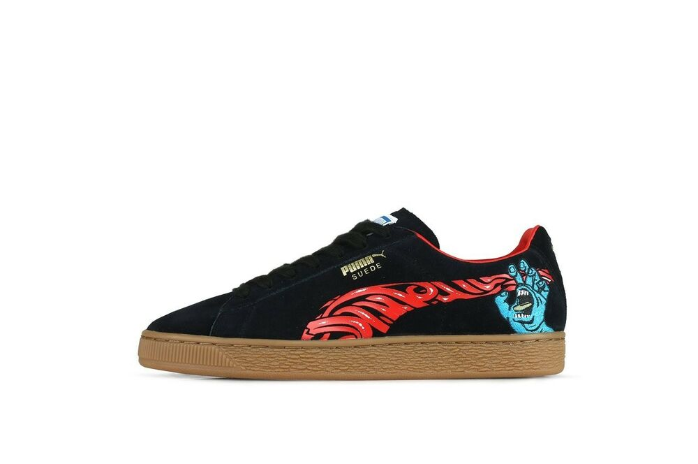Puma x Santa Cruz Screaming Hand Suede Classic SIZE 5  dbf3011df