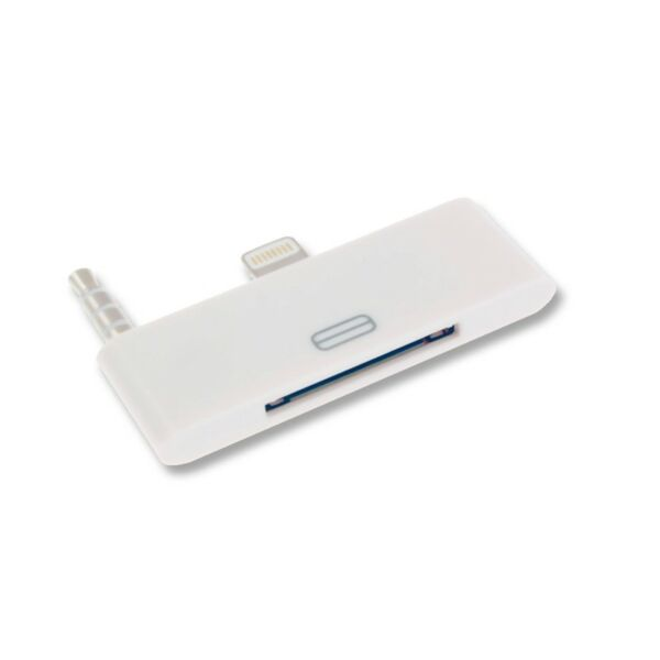 Adattatore Audio da iPhone 4 30 pin a 8 pin per iPhone 6 Plus 6S Plus / Bianco
