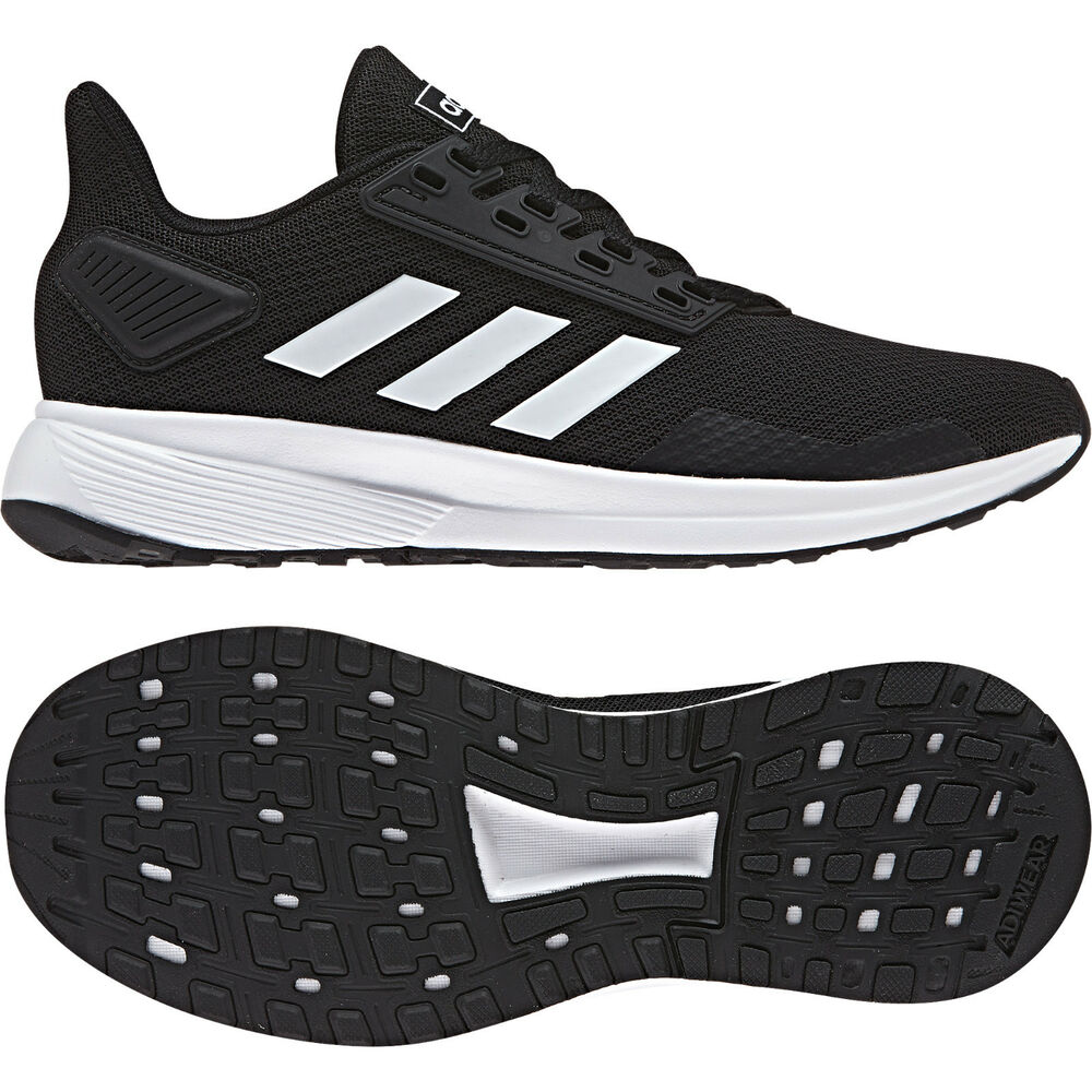 db8e4cf58d5 Details about Adidas Kids Shoes Essential Duramo 9 Training Girls Boys  Running Trainers BB7061