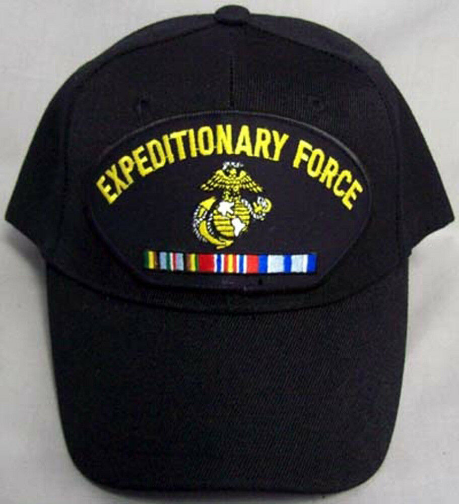 Details about USMC Marine Corp Expeditionary Force Embroidered Military Caps  (7506M38 ) 543a0a62168