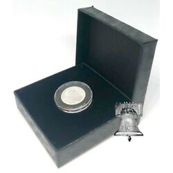 PB1 Coin Holder Storage Case Air-Tite Black Gift Box + Model A Capsule 10mm-20mm