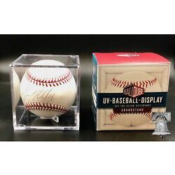 GRAND STAND UV Protection Deluxe Acrylic Baseball Holder Display Case USA MADE
