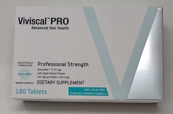 Viviscal Professional Hair Growth Supplement 180 tab 90 Day Supply (Exp:01/2021)