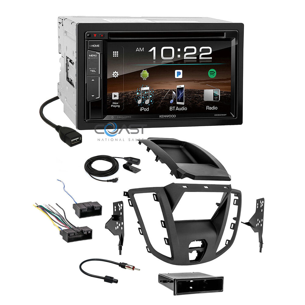 Kenwood 2018 Dvd Sirius Stereo 2 Din Dash Kit Harness For