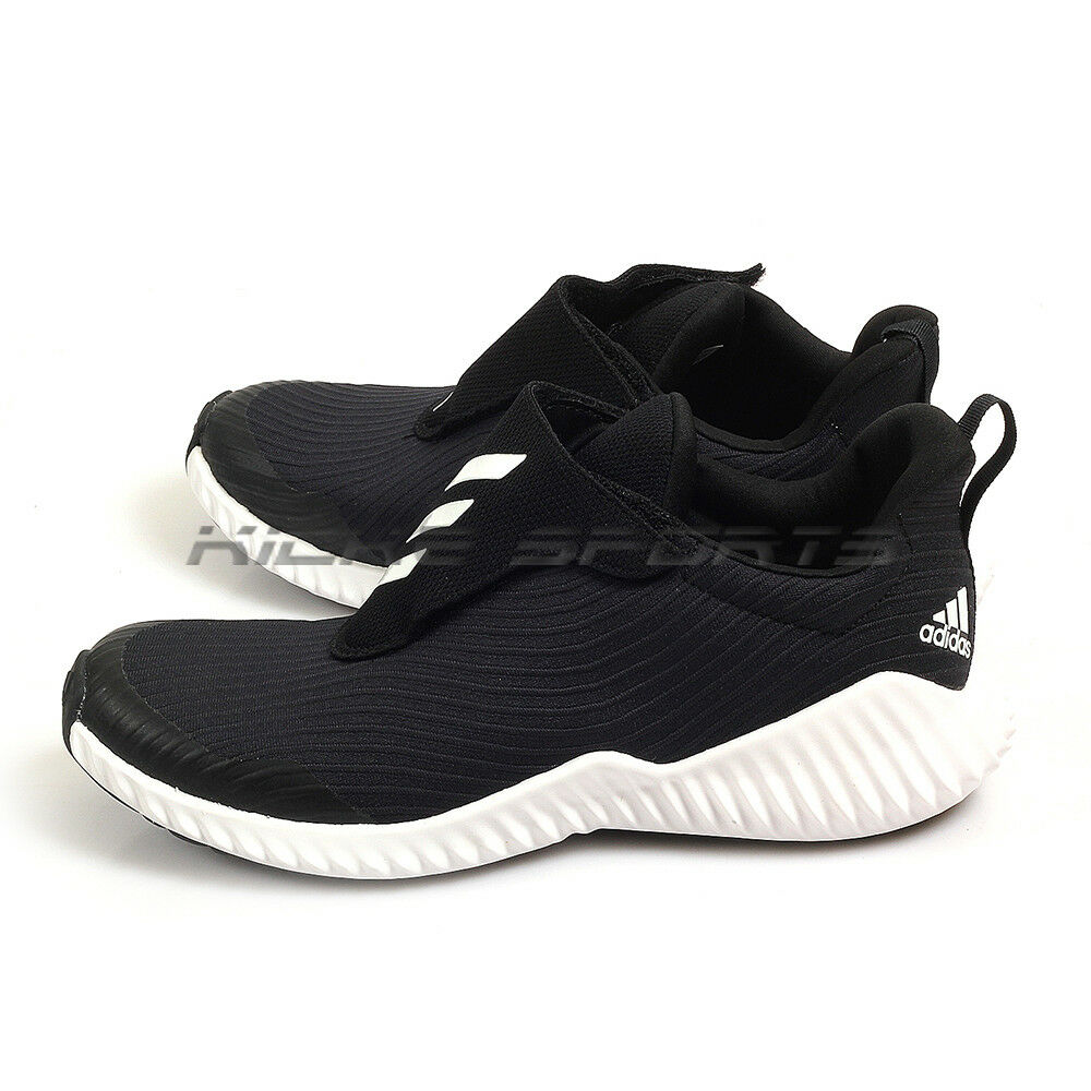 dbede3f342c Details about Adidas Fortarun AC K Black White Kids Youth Sportstyle Running  Shoes AH2627