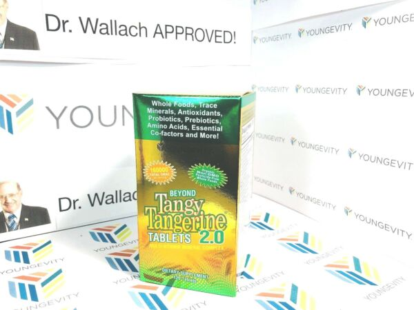Beyond Tangy Tangerine 2.0 TABLETS 160k ORAC! Dr. Wallach Youngevity