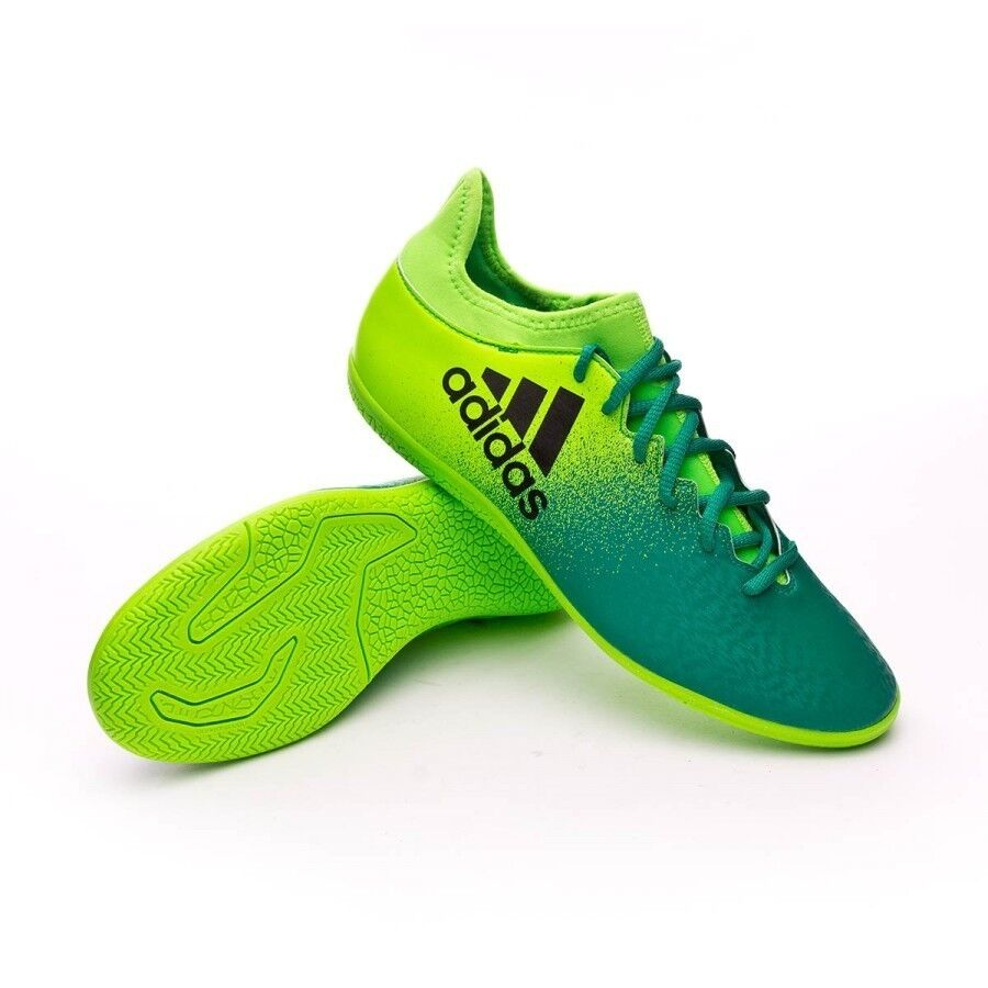 ff6b8fa74 Details about adidas X 16.3 Men's INDOOR Soccer Shoes Model BB5867 MSRP  $100+