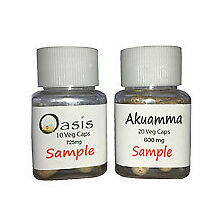 Free Samples of Akuamma and Oasis for Pain Relief, Anxiety, ADHD 1 per name/addr