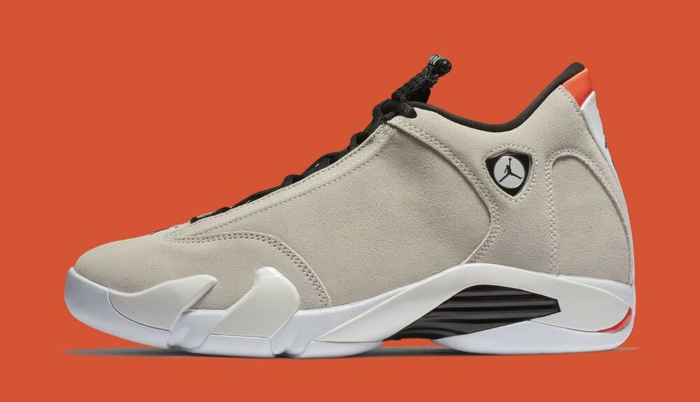 hot sale online cbf55 2a404 Details about Nike Air Jordan 14 XIV Retro size 13. Desert Sand Black Red.  Tan. 487471-021.