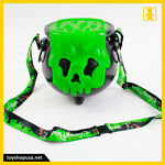 Disney Parks Halloween 2018 Light Up Poison Apple Cauldron Popcorn Bucket New