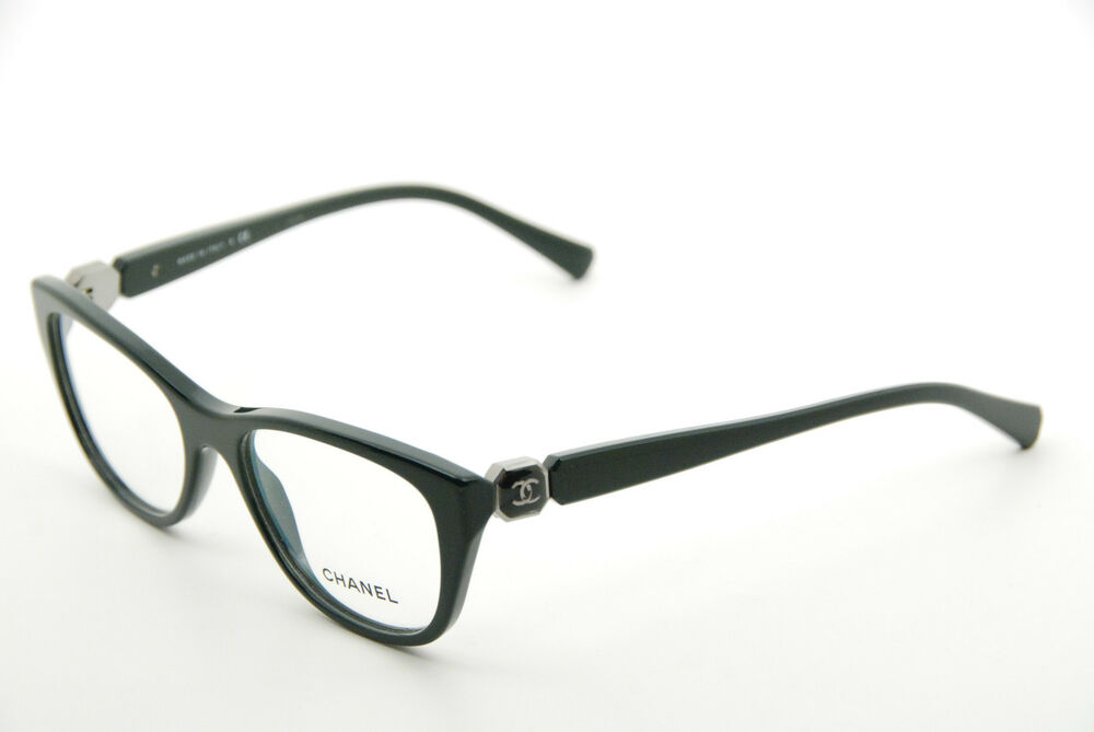 30923541da28 Details about New Authentic Chanel 3285 c.1459 Dark Green 52mm Frames  Eyeglasses RX Italy