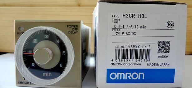 1pc New Omron Timer Power Off Delay H3cr