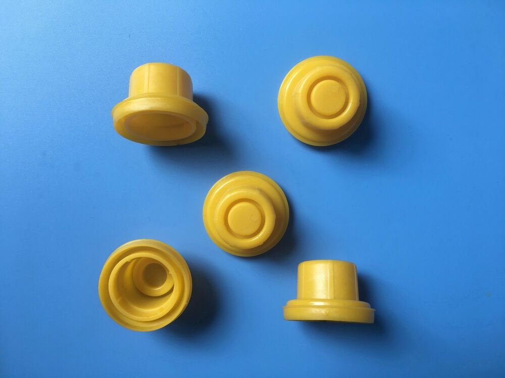 5 X Blitz Yellow Spout Cap Fits Self Venting Gas Can