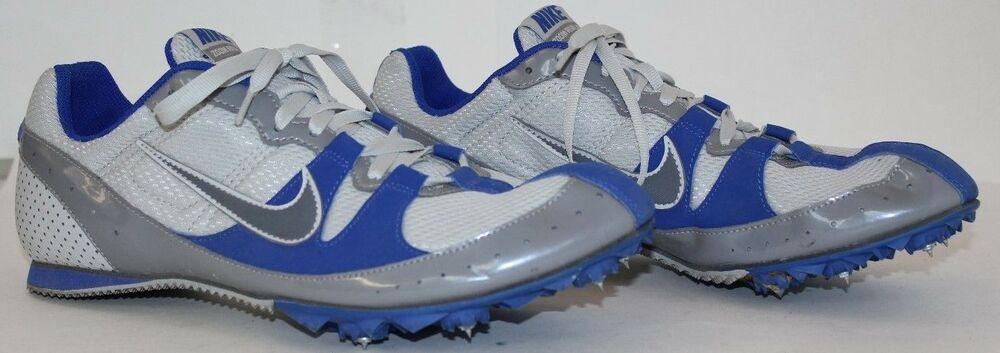 quality design 3e971 88f68 Details about Nike Zoom Rival MD Bowerman Series Track   Field Shoes Men s  size 9.5 White Blue