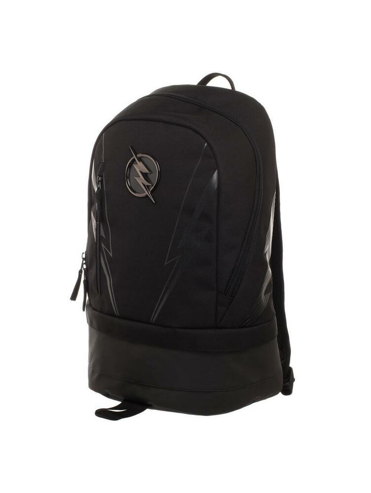 892855abc12 Details about OFFICIAL DC COMICS - THE FLASH - ZOOM SYMBOL BLACK BACKPACK  BAG (BRAND NEW)