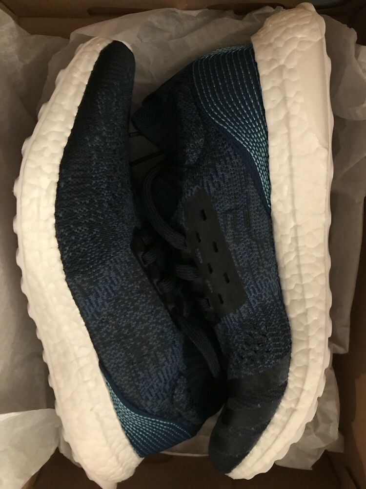 b86d28dce Details about Adidas UltraBOOST Boost Uncaged Parley Night Navy Blue US  Mens size 9 BY3057