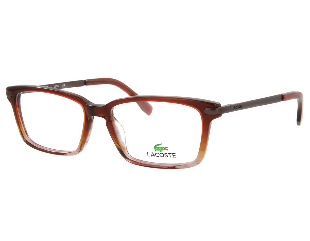 e7aab6e6bb0 NEW Lacoste L2720-210 Brown Rose Gradient 52mm Eyeglasses