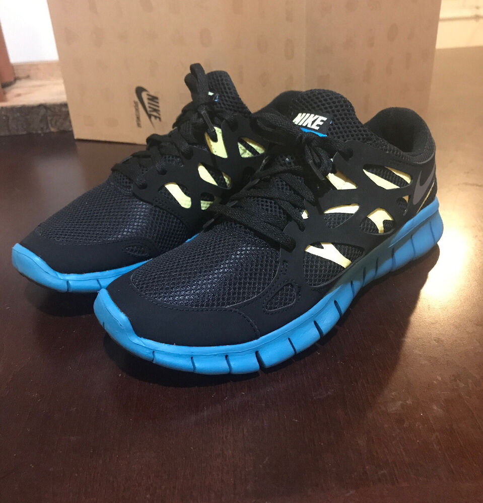 check out d9e5a 99552 Details about Nike Free Run + 2 EXT womens shoes sneakers 536746 003 new  blue