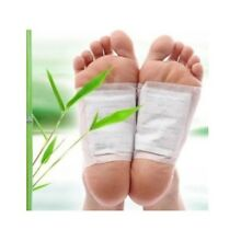 Kinoki WHITE Organic Herbal Cleansing DETOX FOOT PADS Slimming Patches (1 Pair)