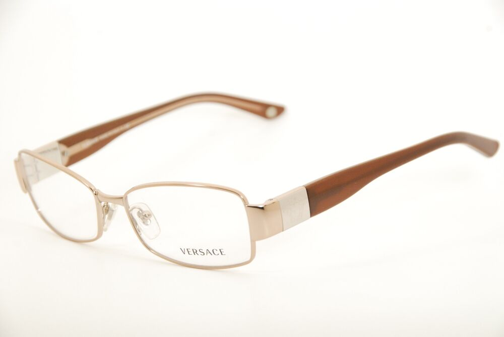 8576da3bd9126 Details about New Authentic Versace 1159 1052 Copper Brown 52mm Frames  Eyeglasses RX   Case