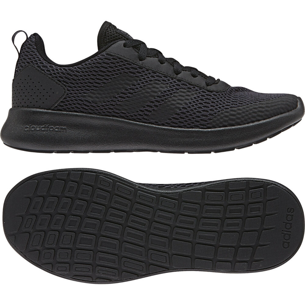 a423c3f32eb Details about Adidas Women Running Shoes Element Race Cloudfoam Training  Black Trainers B44892