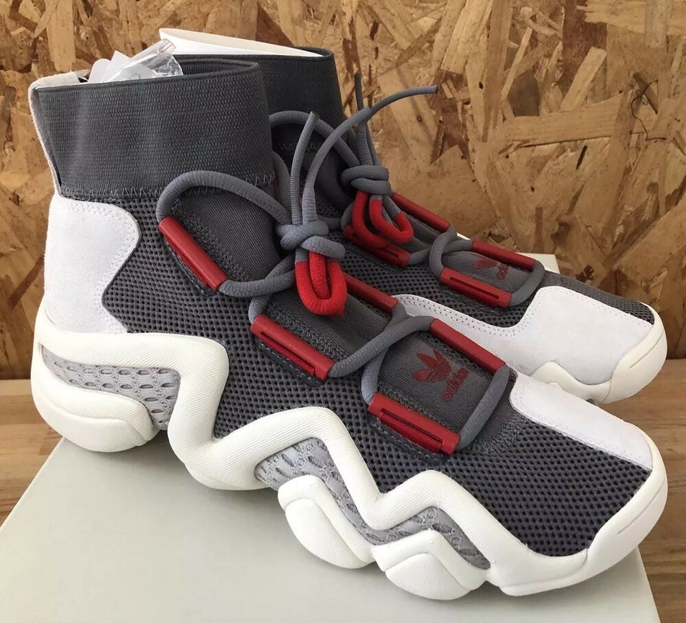 new arrival 0a648 2b7d4 Details about Adidas Crazy 8 A D CQ1869 Grey Red White Sz 10.5 NIB