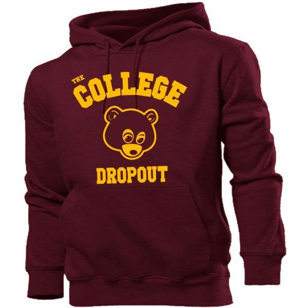 The College Dropout Hoodie Hoody Kanye West Yeezus Yeezy Jay Z