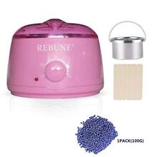 Pink Wax Warmer Rapid Melt Hair Removal Waxing Kit With 1 Different Beans