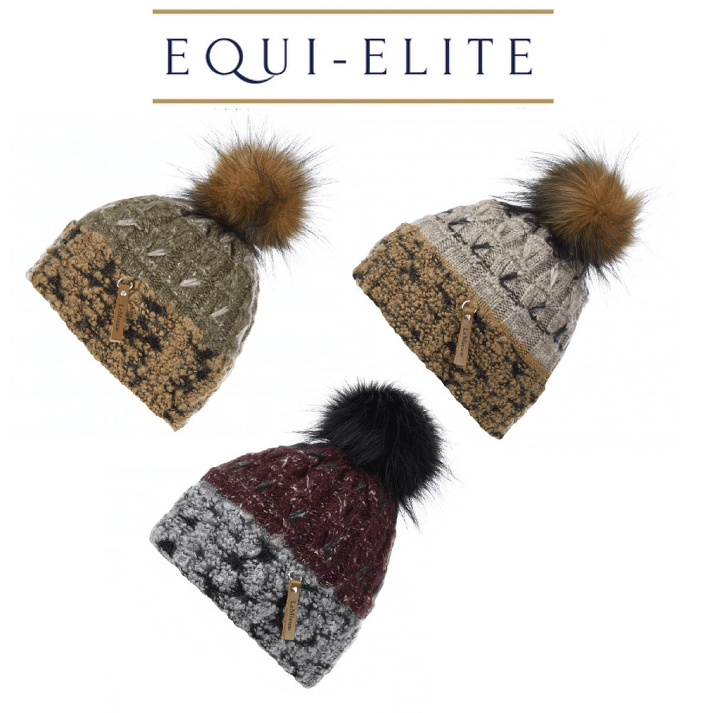 c4367ba8620 Details about LeMieux Colorado Luxury Pom Pom Beanie Hat