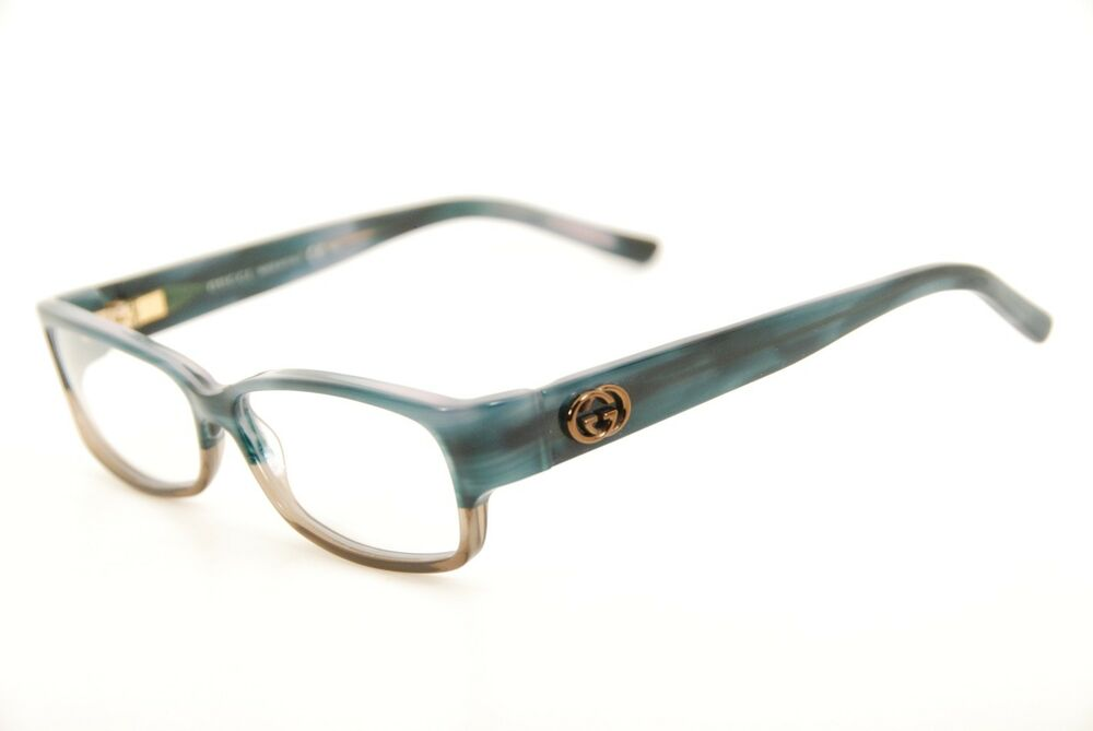 246a6f08f684 Details about New Authentic Gucci GG 3152 RUY Blue-Green Brown 54mm Italy Frames  Eyeglasses RX