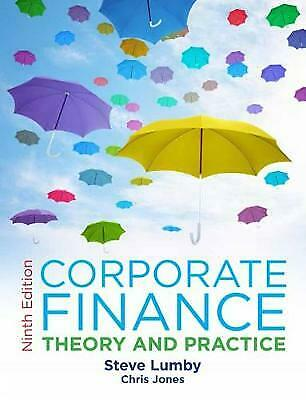 Corporate Finance (Paperback), Lumby, Steve, Jones, Chris, 978140...