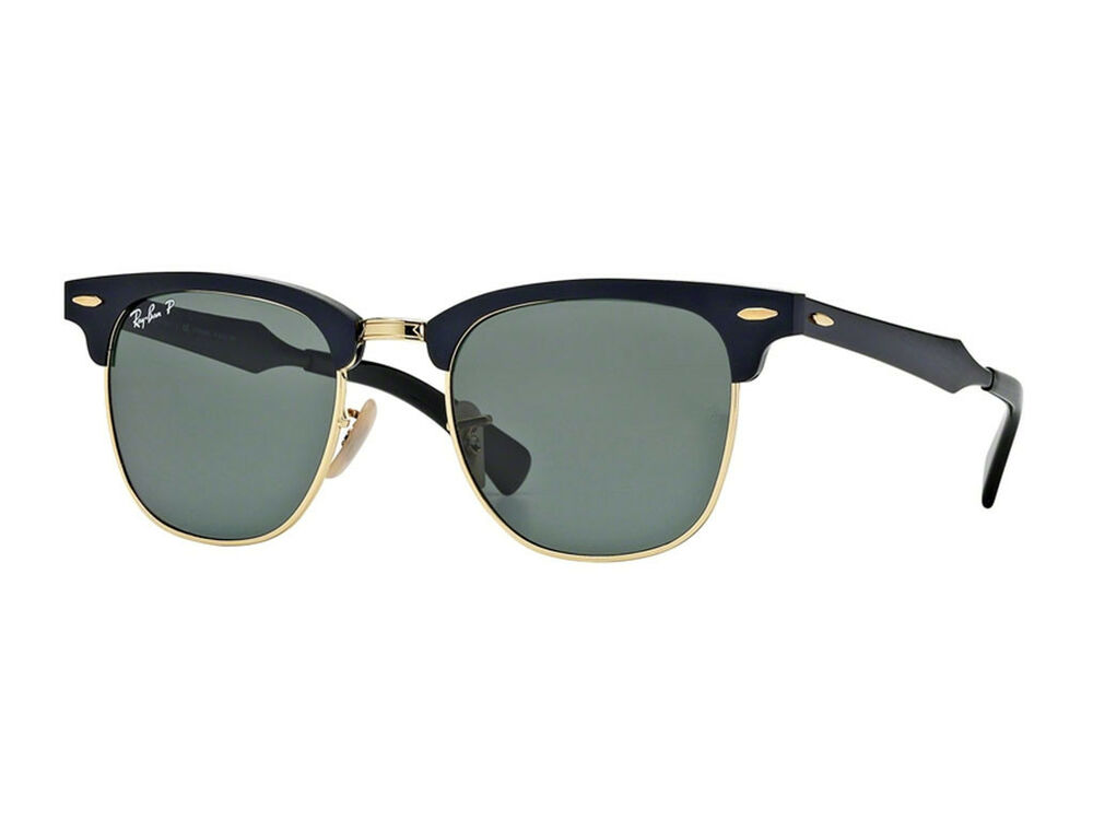 d5e6bb74e5999 Details about sunglasses Ray Ban polarized sunglass RB3507 CLUBMASTER  ALUMINUM 136 N5