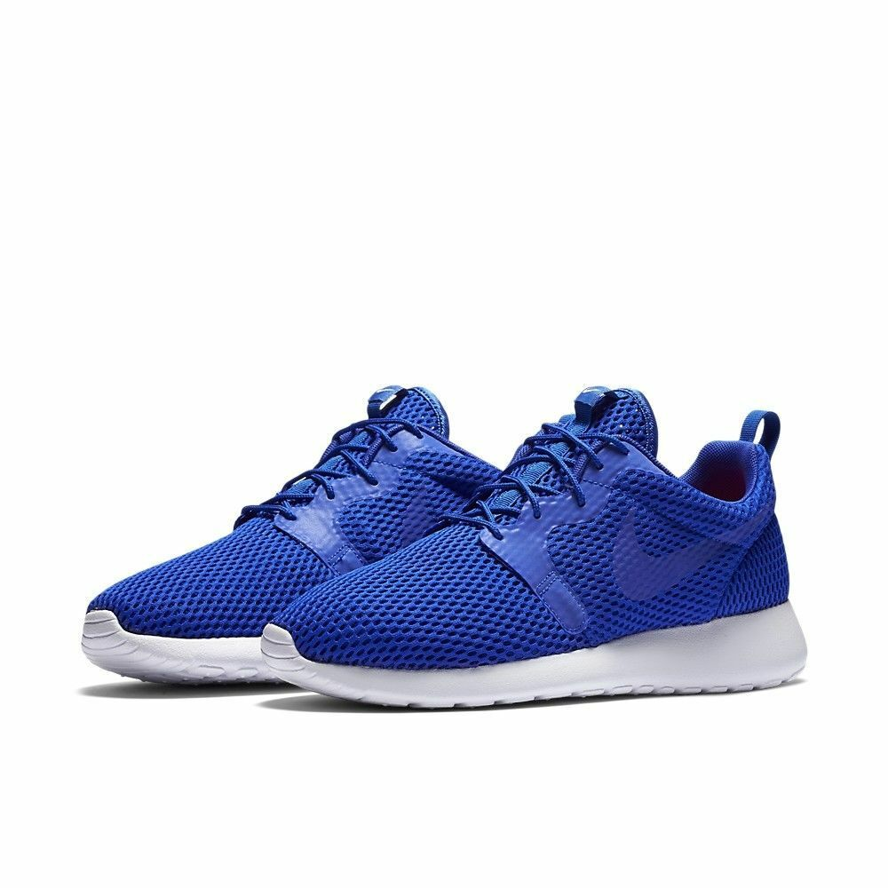 finest selection f4fbb d5e33 Details about Men s Nike Roshe One Hyperfuse BR Shoes NEW Blue White, MSRP   110 size 11.5