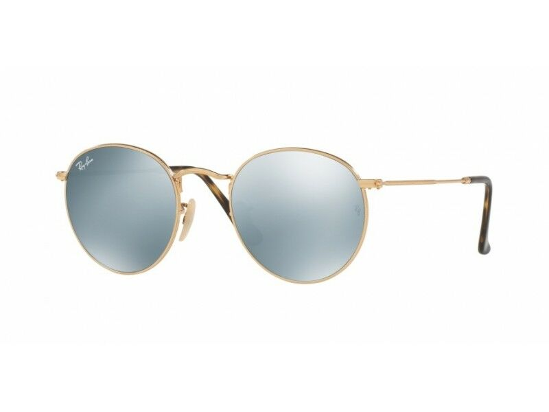 a0b1fdb6b49 Details about sunglasses ray ban sunglasses RB3447N ROUND METAL color code  001 30