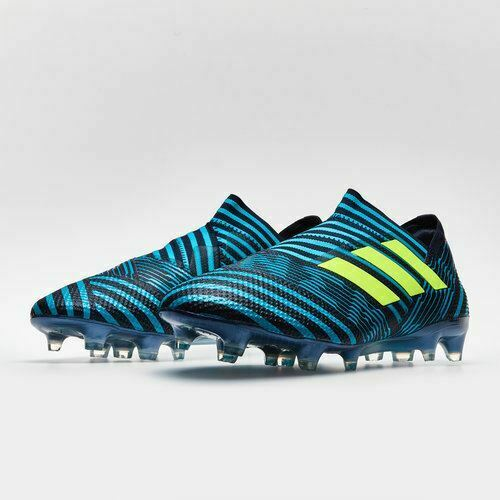 ac5b76840 Details about Adidas Nemeziz 17+ 360 Agility FG Football Boot UK Energy Blue  RRP £99