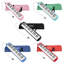 Glarry 37 Key Melodicas Keyboard Piano Pianica Mouth Organ w/ Case Carrying Bag