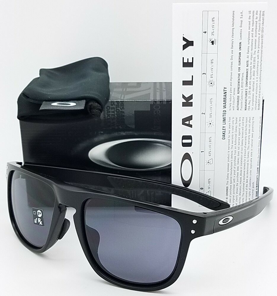 96cae35b5b Details about NEW Oakley Holbrook R sunglasses Matte Black Grey 9379-0155  GENUINE Asian Round
