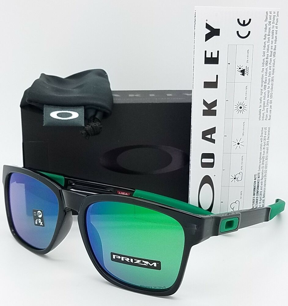 6809953638e Details about NEW Oakley Catalyst sunglasses Black Prizm Jade 9272-26  GENUINE Green 9272-2655