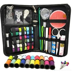 Kyпить Sewing Kit Measure Scissors Thimble Thread Needle Storage Box Travel Sewing Kit на еВаy.соm