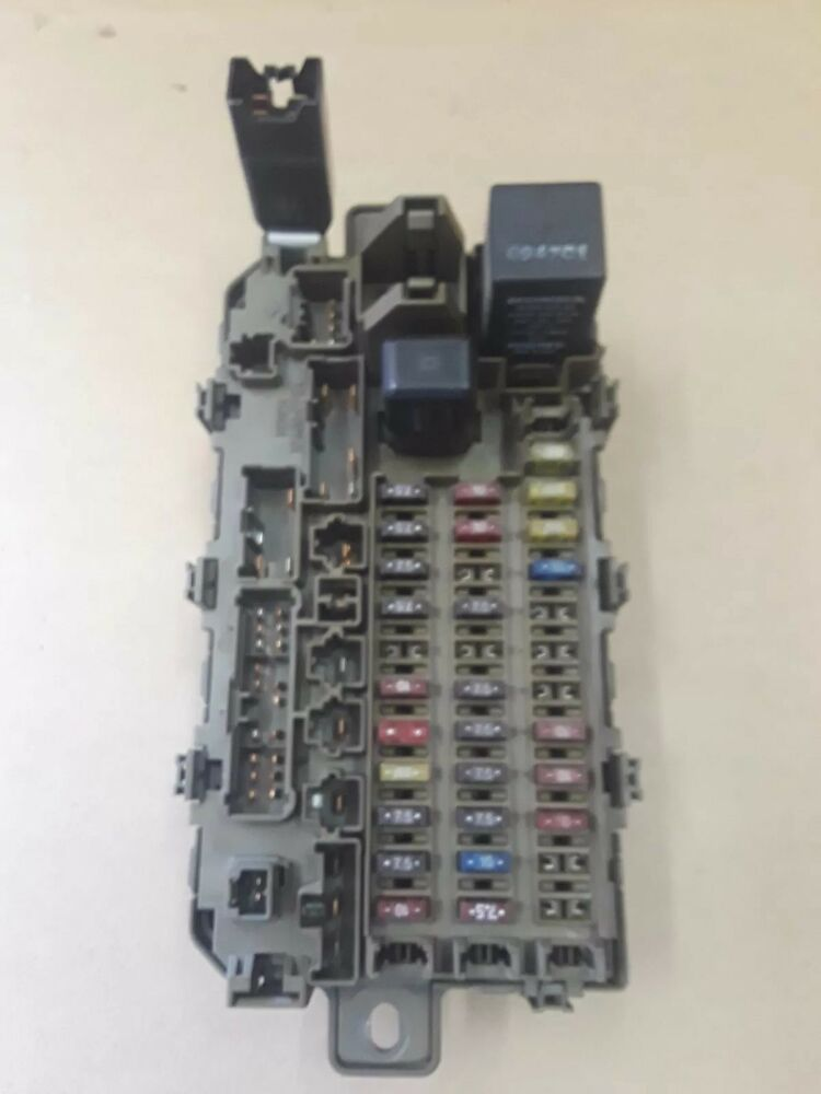 details about 96 97 98 99 00 honda civic under dash fuse box w/ fuses  relays oem f053
