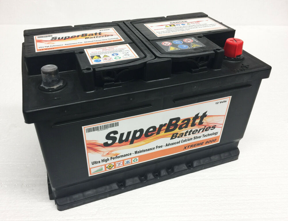 Details About Superbatt Xc096 Ford Focus 1 8 6 2 0 Tdci Sel Car Battery Check Size